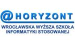 Logo: Wrocławska Wyższa Szkoła Informatyki Stosowanej HORYZONT - Wrocław