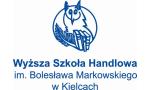 Logo: Wyższa Szkoła Handlowa im. Bolesława Markowskiego w Kielcach - Kielce