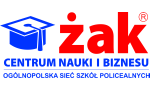 Logo: Centrum Nauki i Biznesu ŻAK Ogólnopolska Sieć Szkół Policealnych - Rzeszów