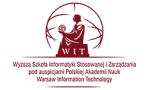 Logo: Wyższa Szkoła Informatyki Stosowanej i Zarządzania WIT - Warszawa