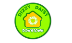 Logo: Dizzy Daisy Downtown Hostel