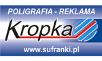 Logo: PPHU Kropka s. c. Joanna i Artur Sufranek  - Zabrze